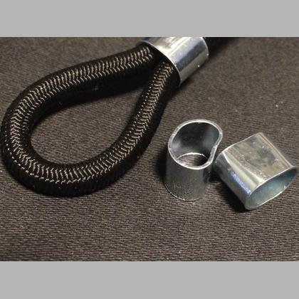 mit Monoeinlage schwa UV-beständig Expanderseil 10mm Ø PP ummantelt Meterware